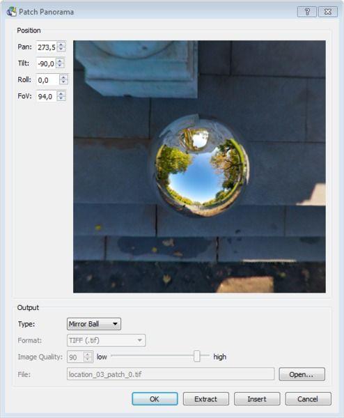 Как сделать панораму с ссылками