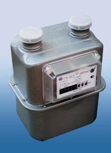 Счетчики газа бытовые СГБ-G2,5